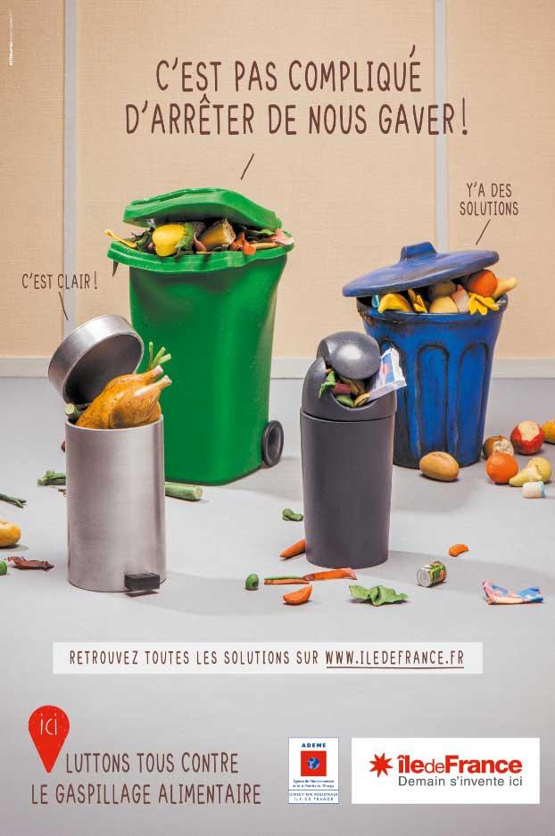 La Région Ile-de-France met l'accent sur le gaspillage alimentaire dès le 12 novembre.
